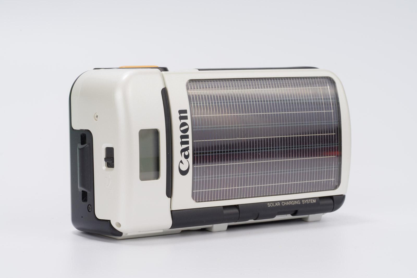 canon sure shot del sol solar camera