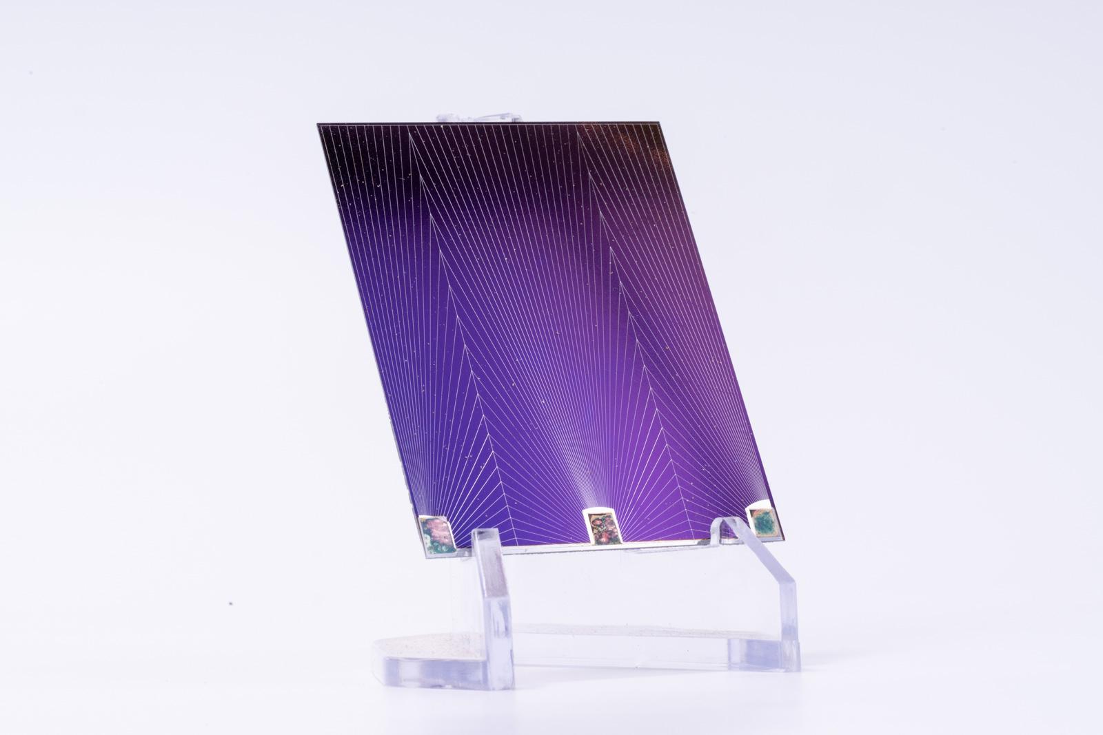 Spire Corporation Solar Cell Satellite Space