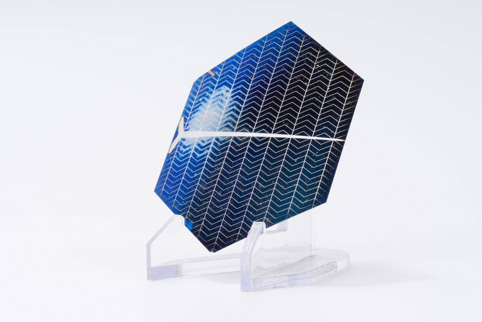 Solarex 2 mil ultra thin solar cell