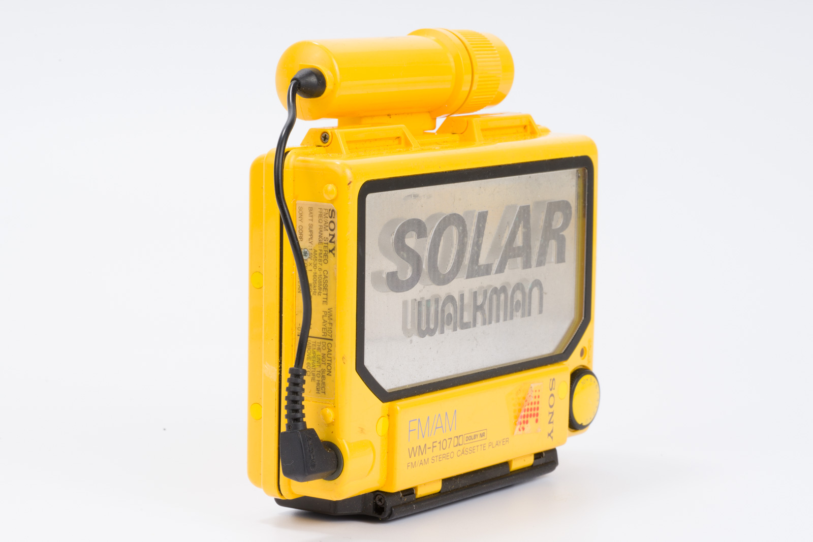 Sony Solar Walkman Radio